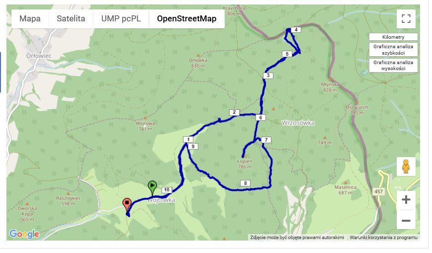 mapa open map